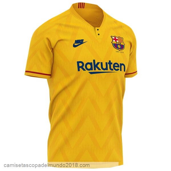 2ª Camiseta Equipación Barcelona 120th Amarillo