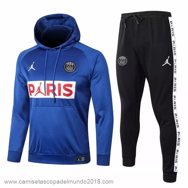 Chandal Paris Saint Germain 2020 2021 Azul Blanco Negro Equipación