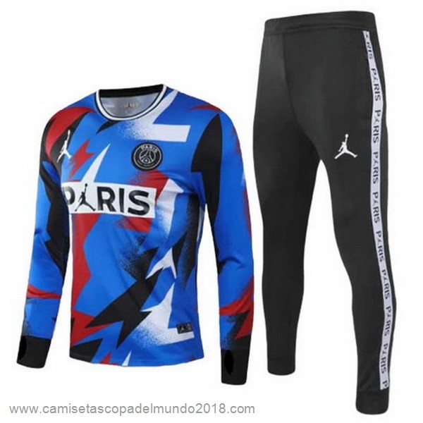 Chandal Paris Saint Germain 2020 2021 Azul Negro Equipación