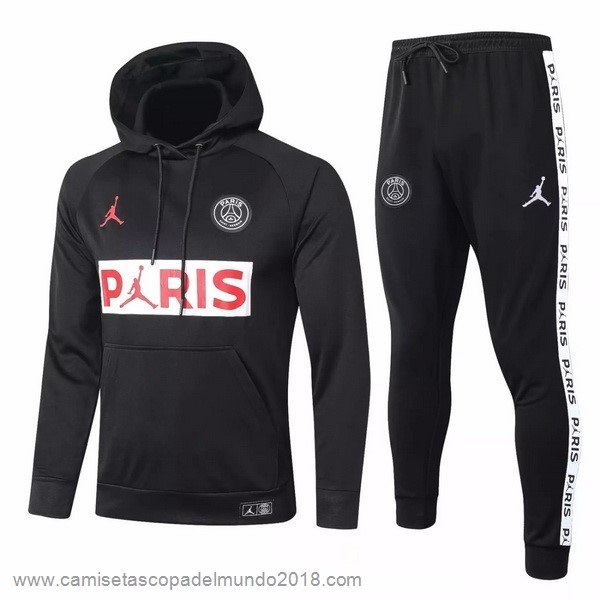 Chandal Paris Saint Germain 2020 2021 Negro Equipación