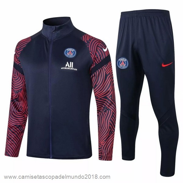 Chandal Paris Saint Germain 2020 2021 Negro Rojo Equipación