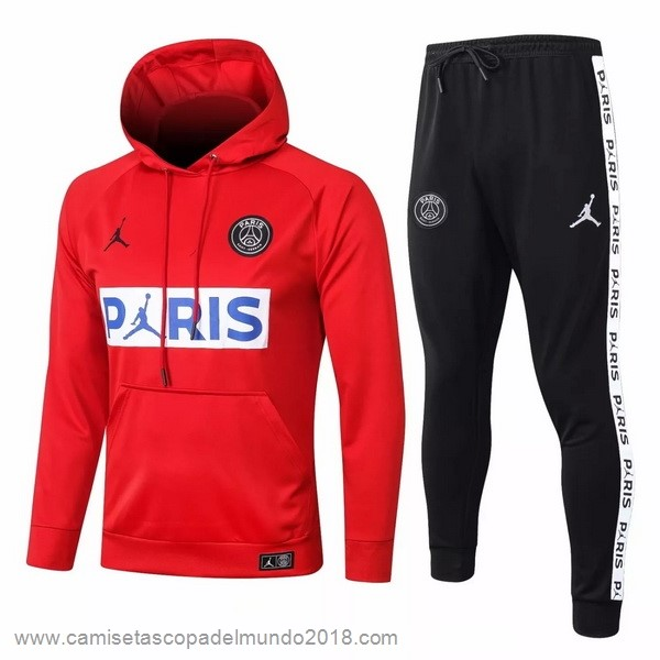 Chandal Paris Saint Germain 2020 2021 Rojo Equipación