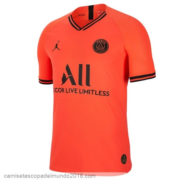 2ª Camiseta Equipación Paris Saint Germain 2019/20 Naranja
