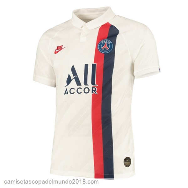 3ª Camiseta Equipación Paris Saint Germain 2019/20 Blanco