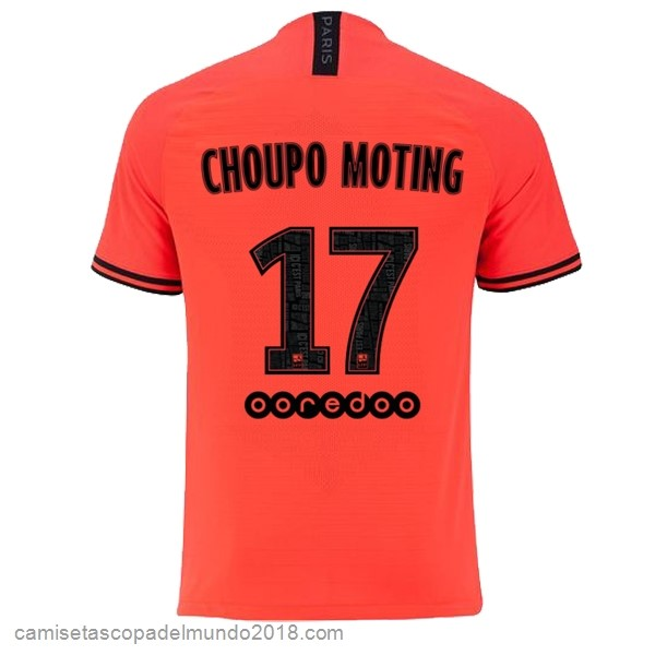 Camiseta Equipación NO.17 Choupo Moting 2ª Paris Saint Germain 2019/20 Naranja
