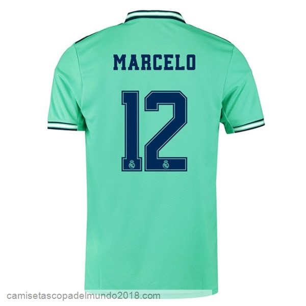 Camiseta Equipación NO.12 Marcelo 3ª Real Madrid 2019/20 Verde