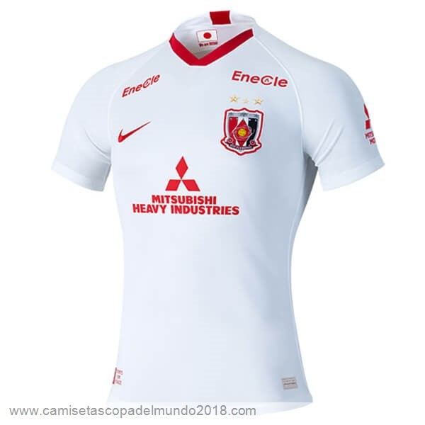 Segunda Camiseta Urawa Red Diamonds 2020 2021 Blanco Equipación