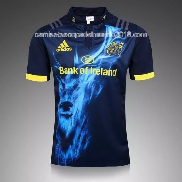 Azul Camiseta Rugby Manchester City 2016 2017