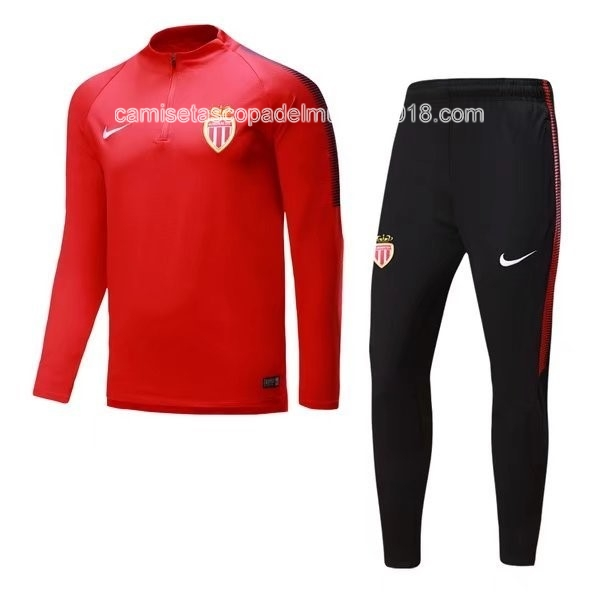 Chandal AS Monaco 2017 2018 Rojo