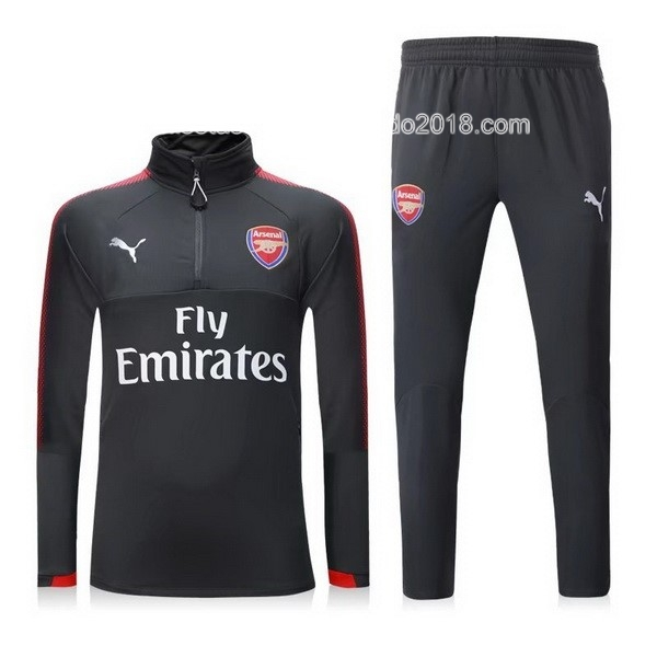 Chandal Arsenal 2017 2018 Gris Rojo