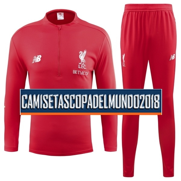 Chandal Liverpool 2018 2019 Rojo