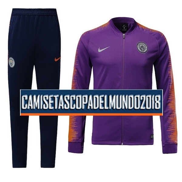 Chándal Manchester City 2018 2019 Purpura