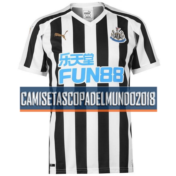 Primera Camiseta Equipación Newcastle United 2018 2019
