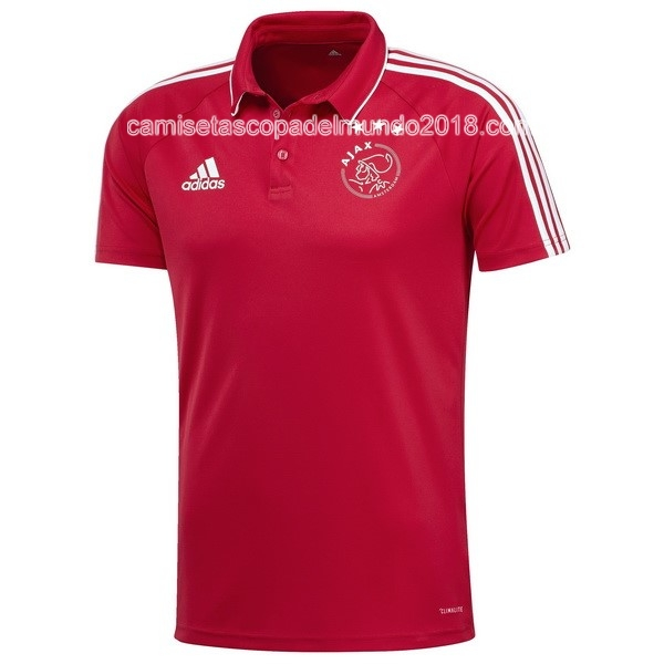 Polo Camiseta Ajax 2017 2018 Rojo