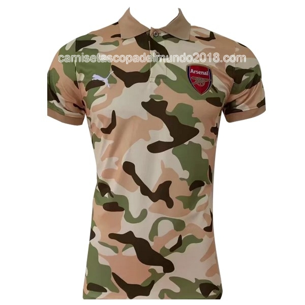 Polo Camiseta Arsenal 2017 2018 Marron