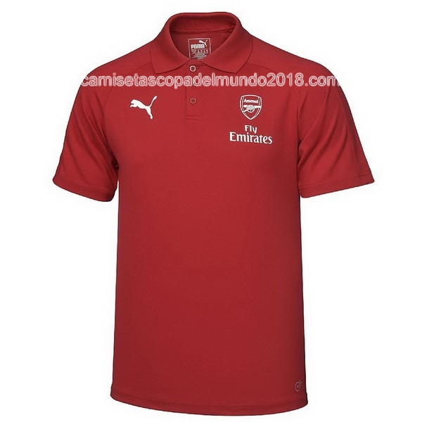 Polo Camiseta Arsenal 2017 2018 Rojo