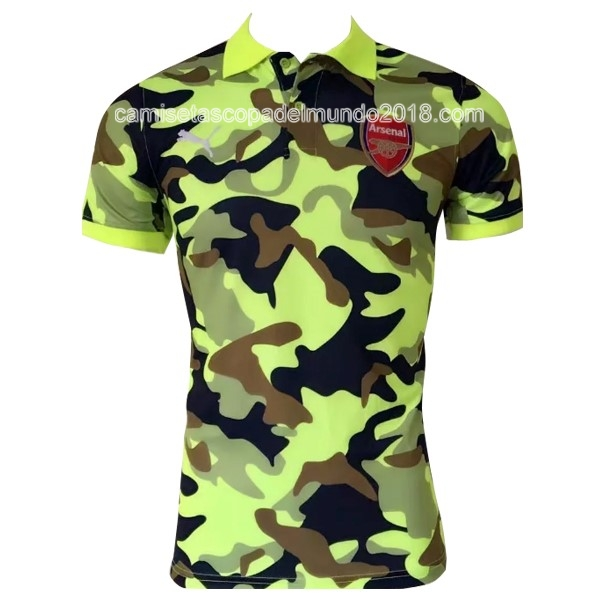 Polo Camiseta Arsenal 2017 2018 Verde