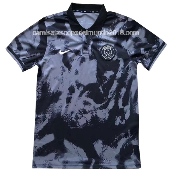 Polo Camiseta Paris Saint Germain 2017 2018 Gris