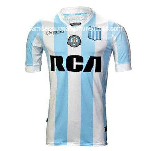 Primera Camiseta Equipación Racing Club 2017 2018