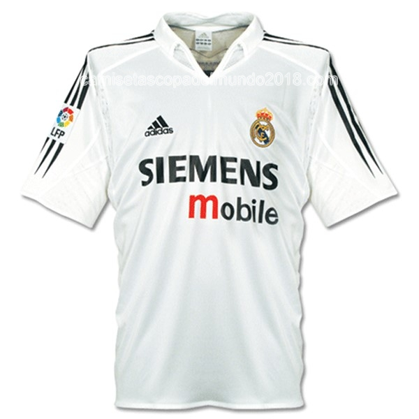 Primera Camiseta Equipación Real Madrid Retro 04 05