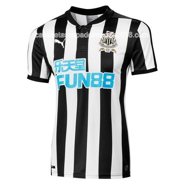 Primera Camiseta Equipación Newcastle United 2017 2018