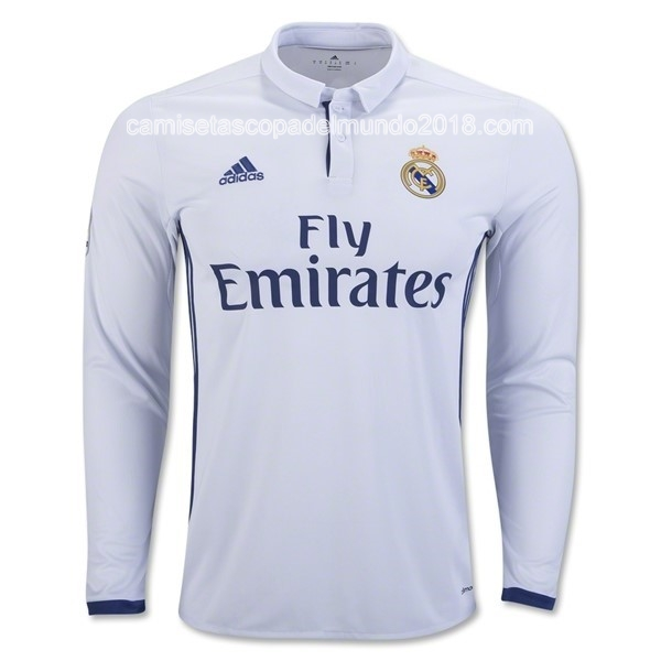 Primera ML Camiseta Equipación Real Madrid 2016 2017