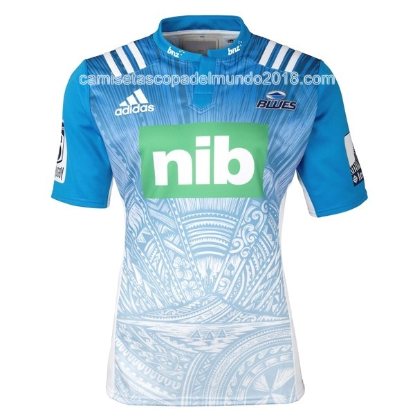 Segunda Camiseta Rugby Blues 2016