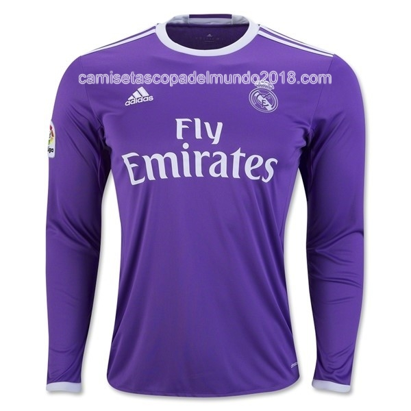 Segunda ML Camiseta Equipación Real Madrid 2016 2017