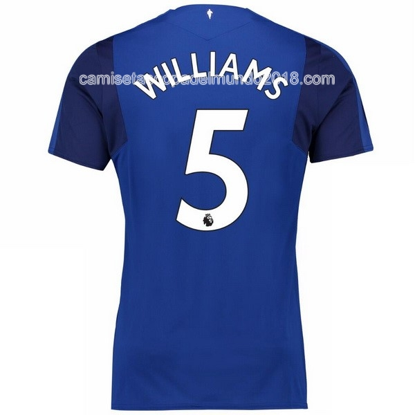 Williams Primera Camiseta Equipación Everton 2017 2018