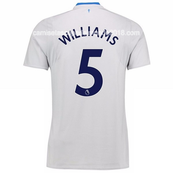 Williams Segunda Camiseta Equipación Everton 2017 2018