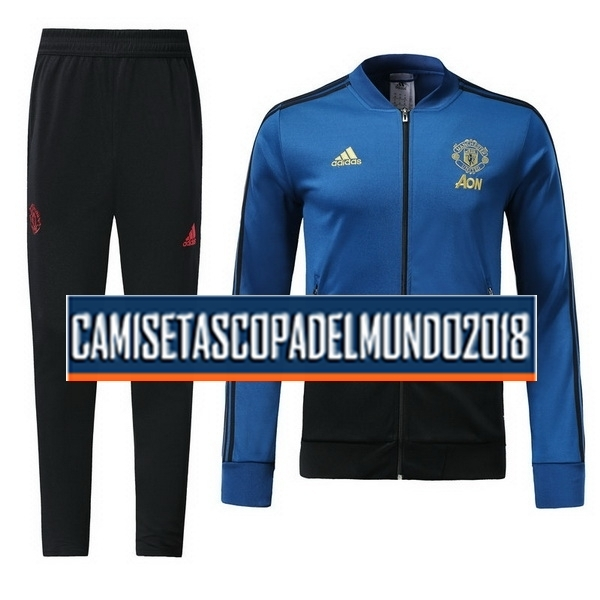 Chandal Manchester United 2018 2019 Azul